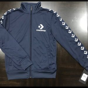 Converse Boys Front Zip Track Jacket size S (8-10)
